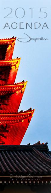 Organiza tus días con esta Agenda exclusiva para el 2015, diseñado con fotos inspiradoras de Japón.