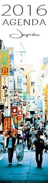 Organiza tus días con esta Agenda exclusiva para el 2016, diseñado con fotos inspiradoras de Japón.