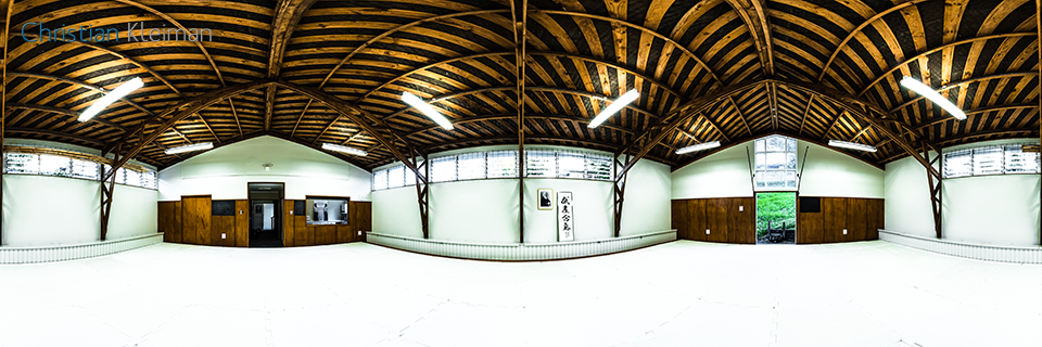 AiKiDo Hombu Dojo - Aikikai New Zealand - 360 VR Pano Photo Shinryukan in New Zealand - Photo by © Christian Kleiman - Photographer, Author and Editor