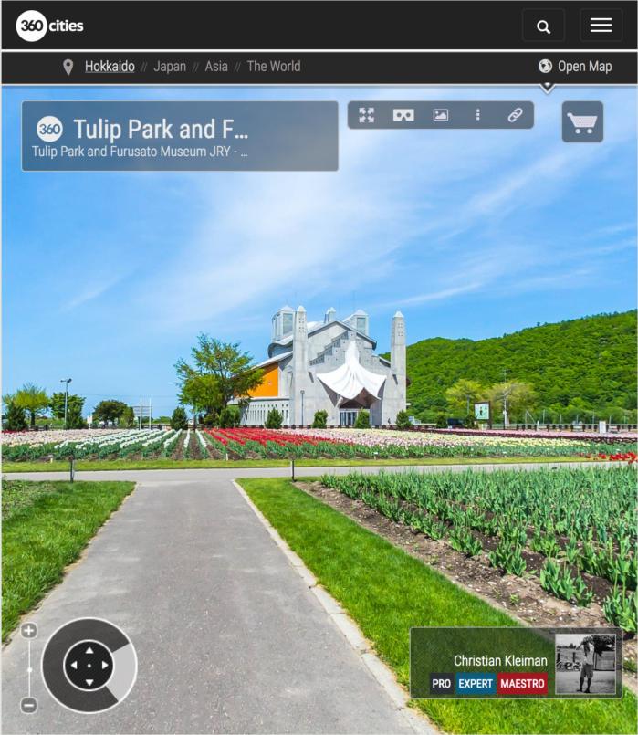 Furusato Museum - Tulip Park - Kamiyubetsu - 360 VR Pano Photo