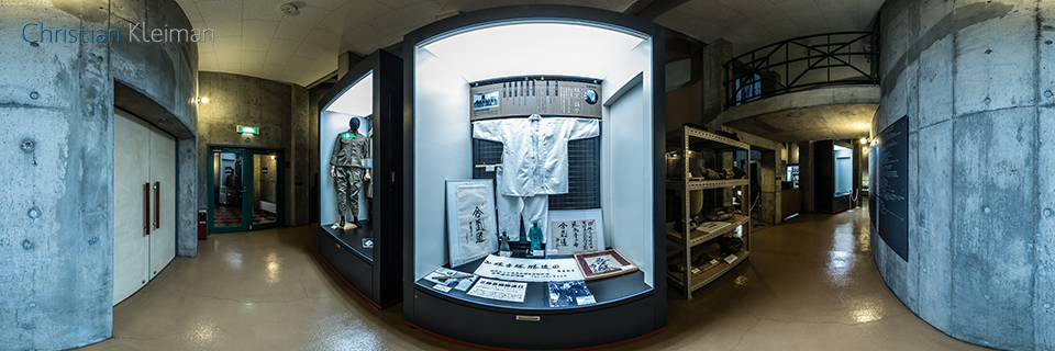 Ueshiba Morihei colonizador en Hokkaido, Japón - Foto Pano 360 VR