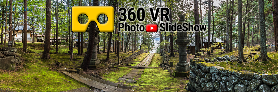 360 VR Video Experience from Teisho-Ji Buddhist Temple. Saku, Japan