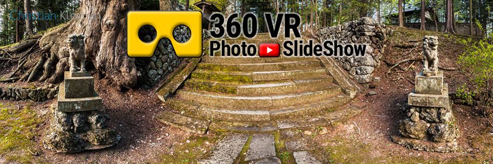 Presentación de Fotos en Video 360 VR creado por © Christian Kleiman