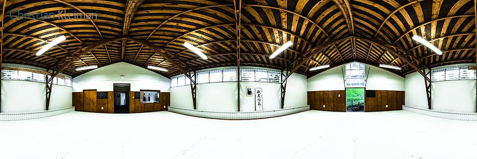 AiKiDo Hombu Dojo - Aikikai de Nueva Zelanda - Foto 360 VR - Aikido Shinryukan Nueva Zelanda - Foto 360 realizado por © Christian Kleiman Fotógrafo y Autor