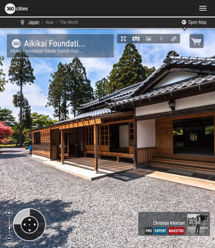 Ibaraki Dojo - Fundación Aikikai - Explora Iwama Dojo con Fotos 360º - AiKiDo Iwama - Ibaraki - Japón - Fotografía Panorámica 360º por © Christian Kleiman