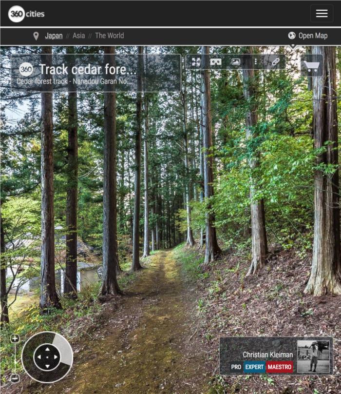 Templo Teisyouji - Camino del Bosque - Explora con una visita virtual el Templo Budista Teisyouji ubicado en Saku, Japón - Fotografía © Christian Kleiman