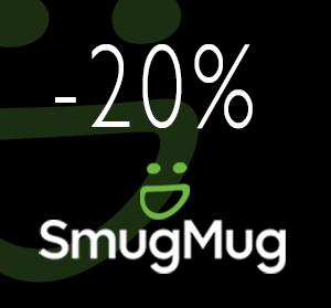 20% descuento en cualquier Plan - Almacenamiento seguro, comparte y vende tus fotos online con SmugMug - La mejor opción para el fotógrafo.