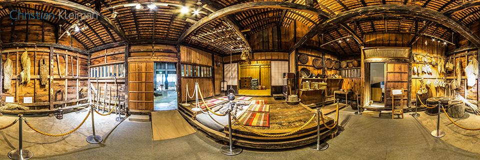 Historia del Tondenhei en Hokkaido, Japón - Foto Pano 360 VR