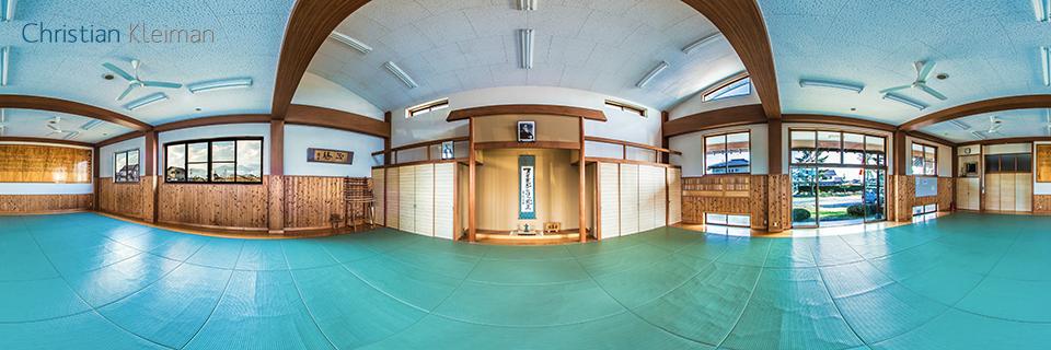 Dojo de Endo Seishiro Shihan - Aikido Saku Dojo - Foto Pano 360 VR
