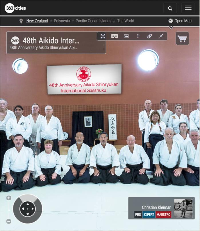48th International Gasshuku - Aikido Shinryukan New Zealand - 360 VR Pano Photo