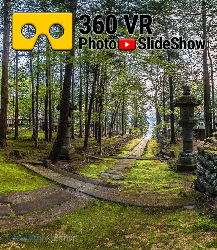 Experiencia Video 360 VR del Templo Budista Teisho-Ji. Saku, Japón